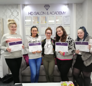 gel polish course manchester